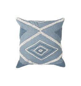 Wayil Recycled Denim Crochet Pillow
