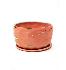 The Object Enthusiast Terracotta Faceted Vessel No. 7