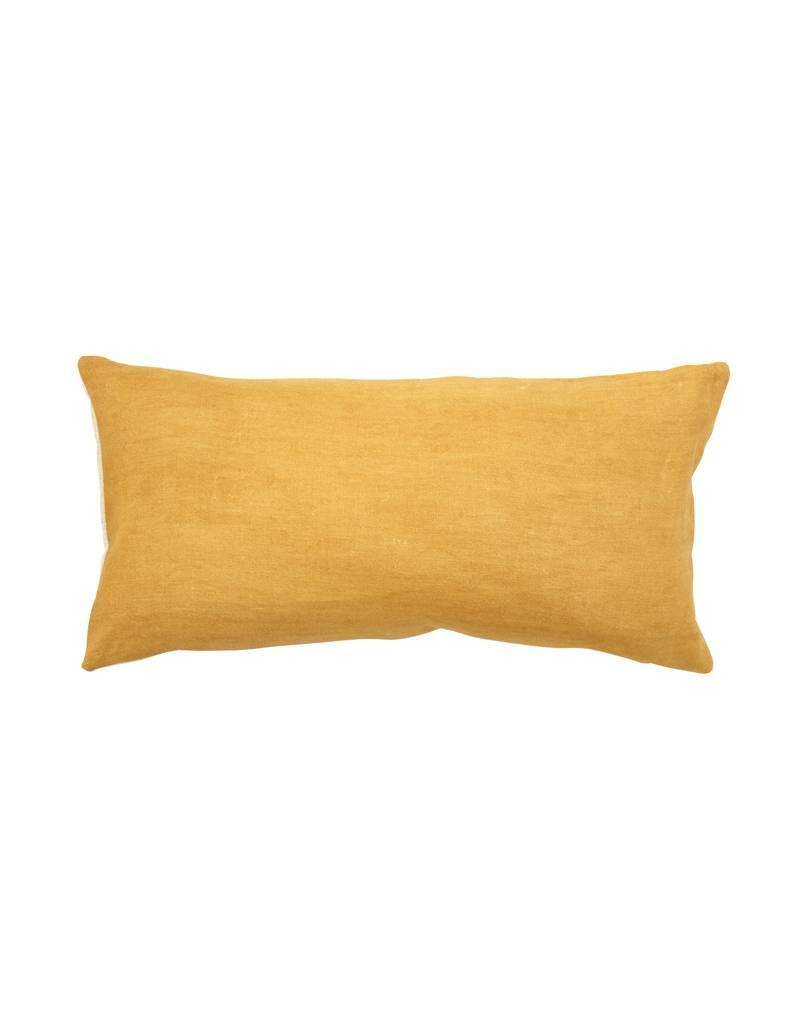 Chanee Vijay Textiles Ochre Lumbar Pillow