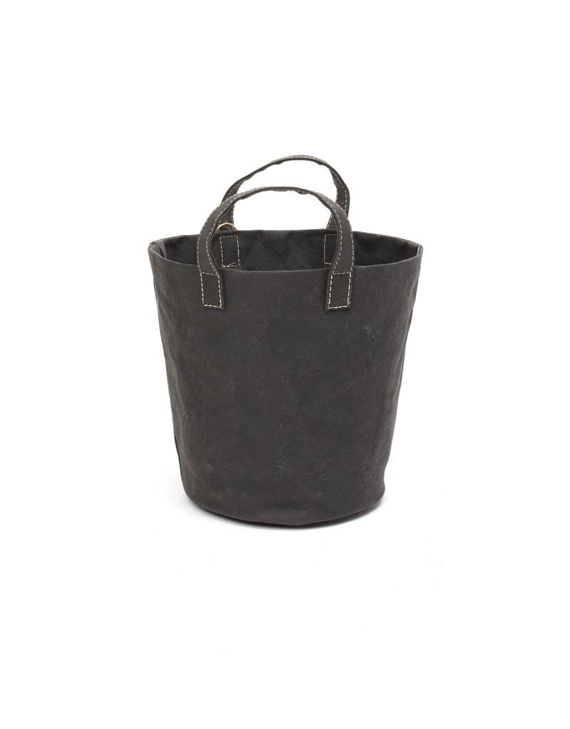 Uashmama Paniere Black Basket Small