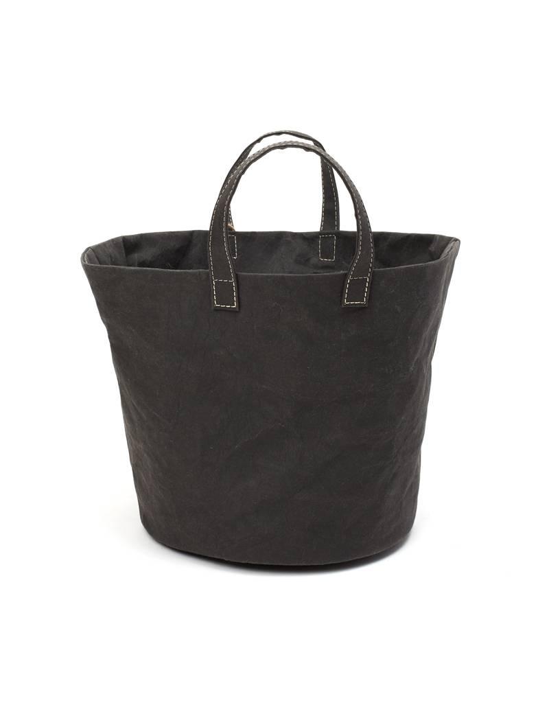 Uashmama Paniere Black Basket Medium