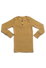 KidWild Organics Organic Vintage Long Sleeve Top- Ochre