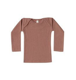 Quincy Mae Organic Ribbed Jersey Lap Tee