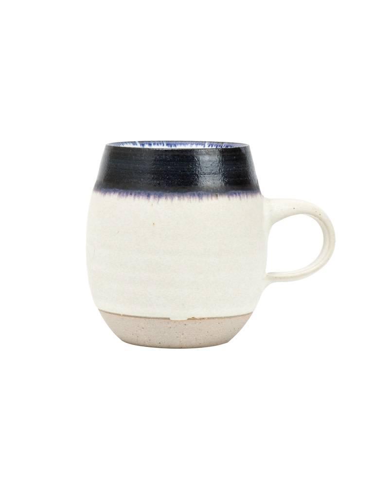 Veak Ceramics Ceramic Mug, Navy