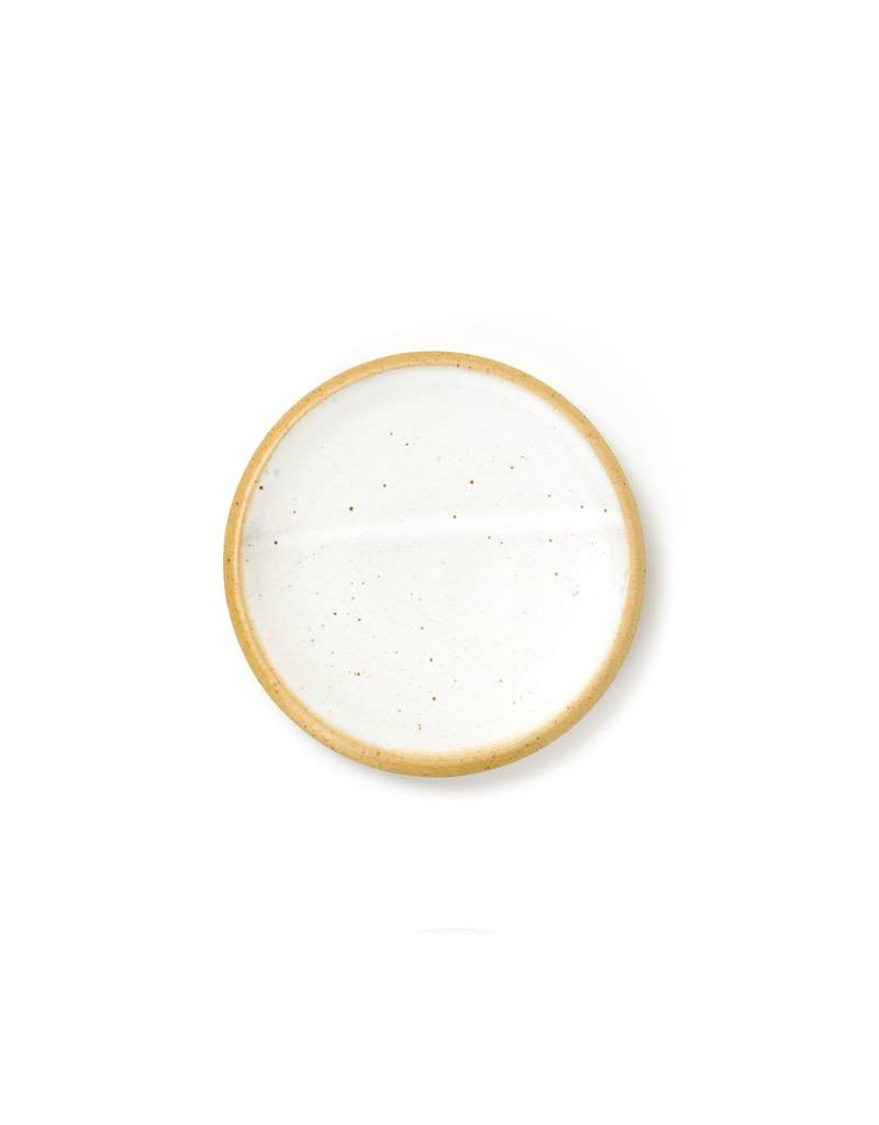 Veak Ceramics Ceramic Dessert Plate- Yellow