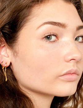 Five and Two Meredith Hoop Earring