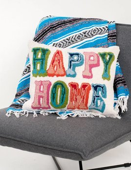 Peking Handicraft Happy Home Pillow