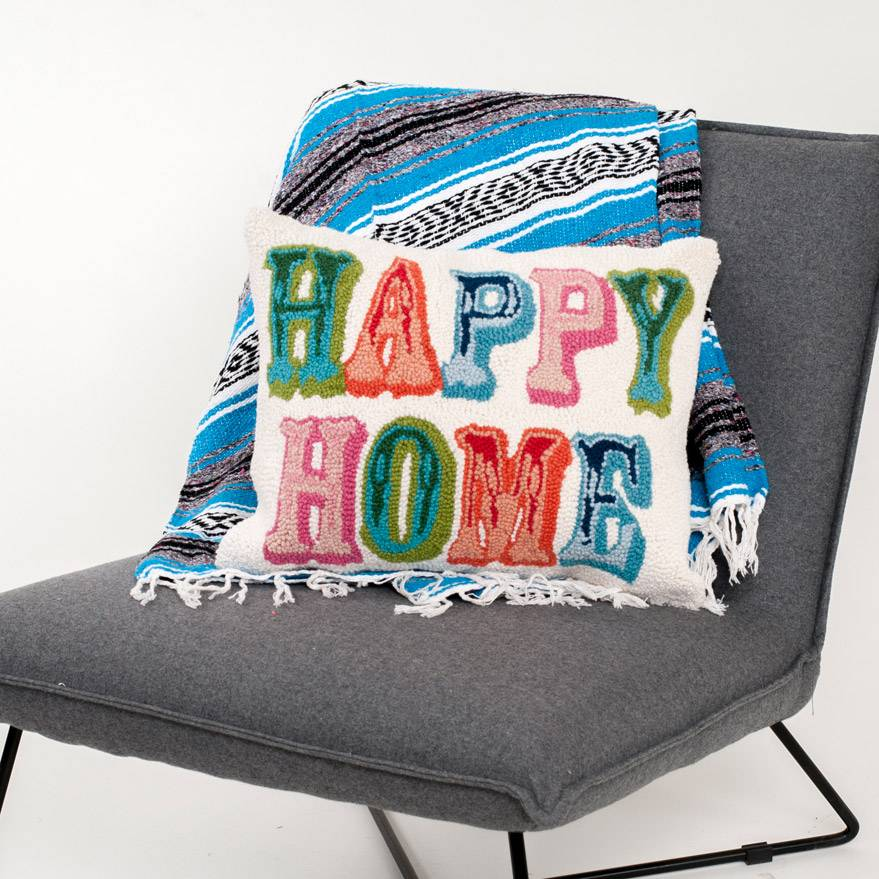 Peking Handicraft Happy Home Pillow