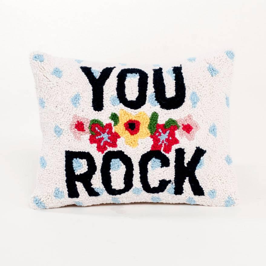 Peking Handicraft You Rock Pillow