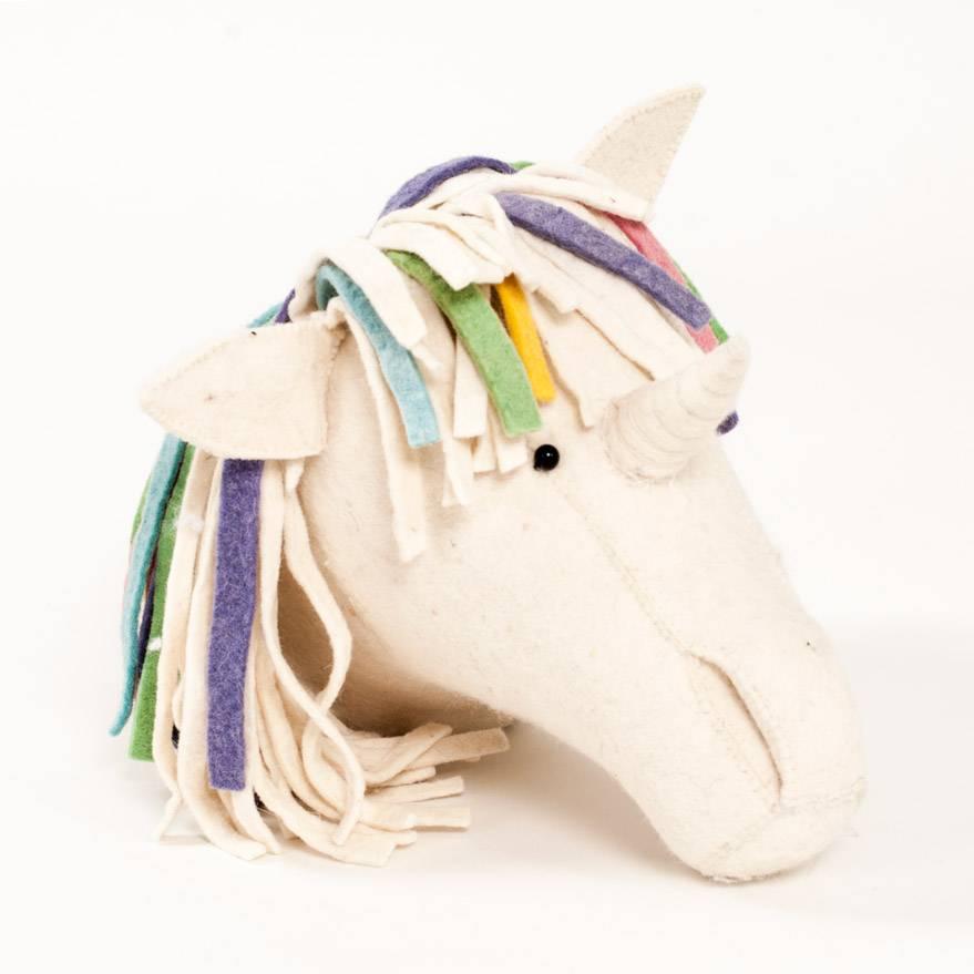 Fiona Walker Pastel Rainbow Unicorn Mount