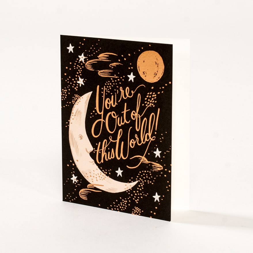 Rifle Paper Co You're Out Of This World Card