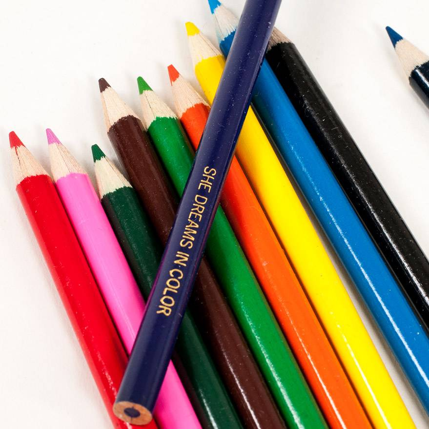 Taylor Elliott Designs She Dreams In Color Pencils