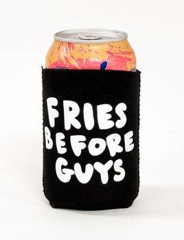 Bando Fries Before Guys Koozie