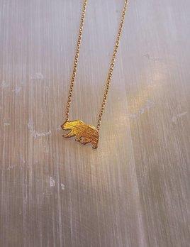 Cute Little Vendor Cute Little Bear Necklace
