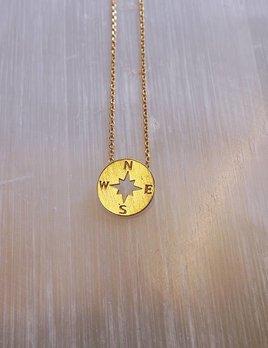Cute Little Vendor Cute Little Compass Necklace