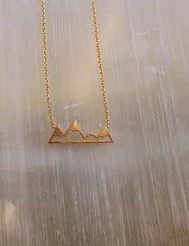 Cute Little Vendor Cute Little Mountain Necklace
