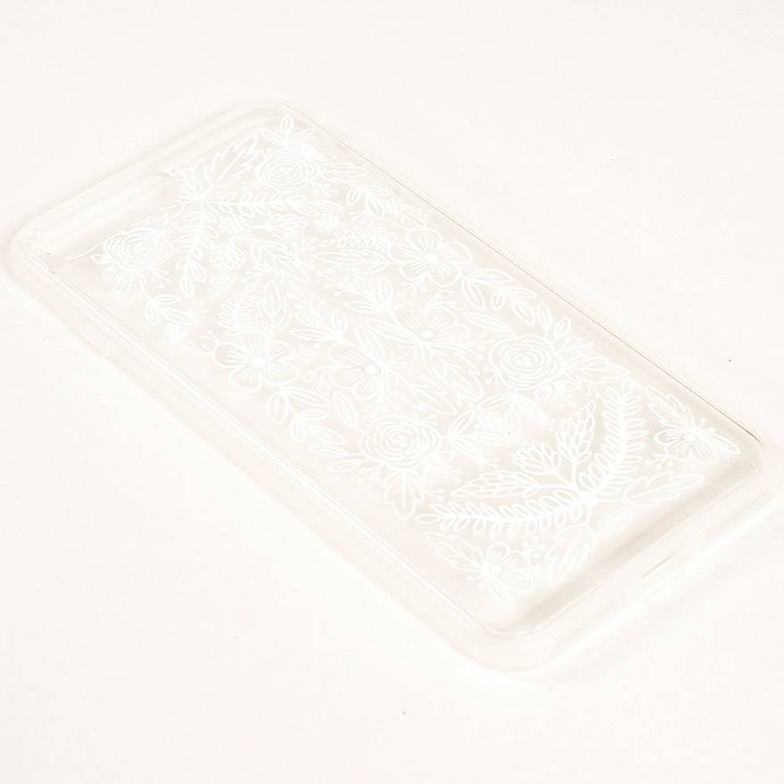 Rifle Paper Co Clear Floral Lace iPhone 7 Plus