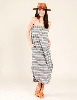Corey Lynn Calter Hailey Stripe Maxi Dress