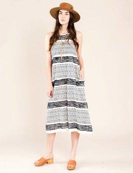 Corey Lynn Calter Zola Fringe Stripe Dress