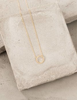 Cute Little Vendor Cute Little Circle Necklace
