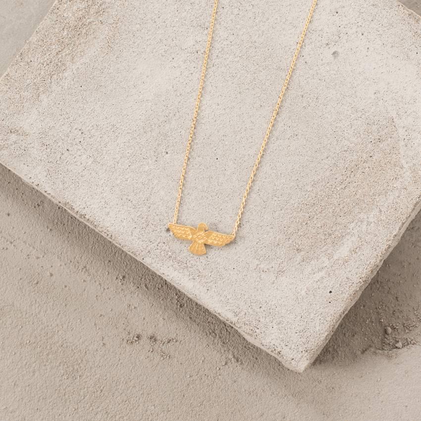 Cute Little Vendor Cute Little Thunderbird Necklace