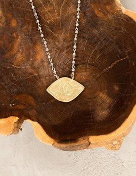 Farrah B Eye of Protection Necklace