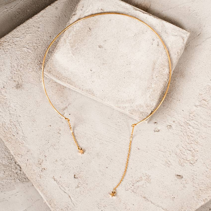 Five and Two Muse Necklace