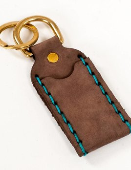 Espacio Handmade Chapstick Holder in Mocha