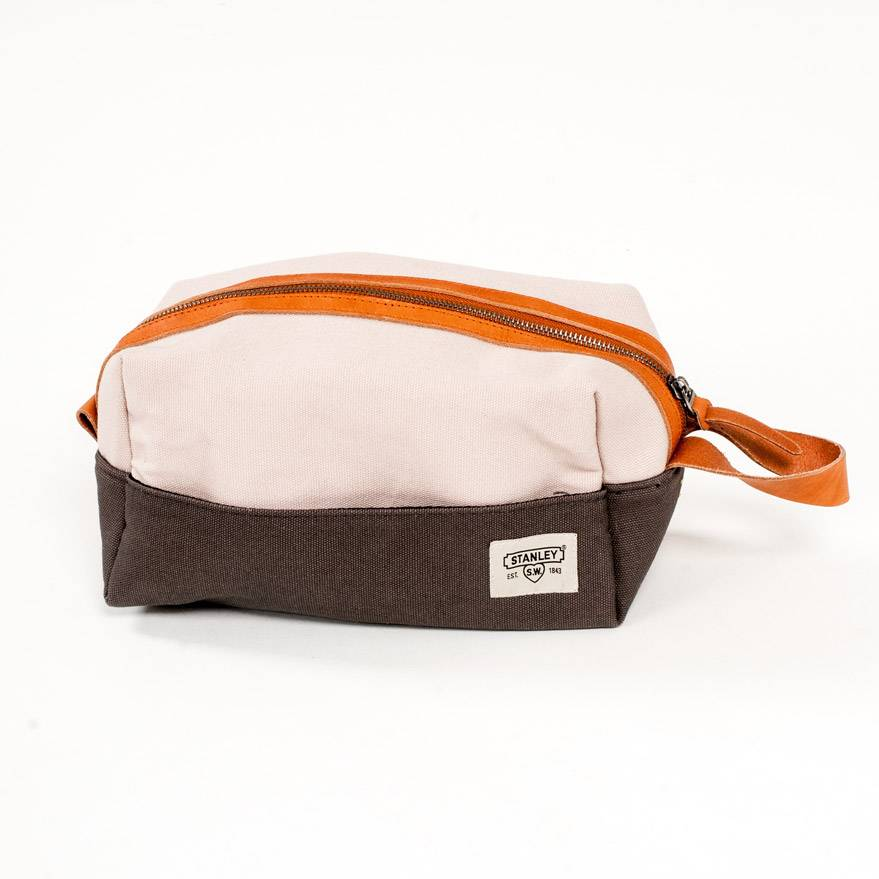 Wild and Wolf Canvas Dopp Kit