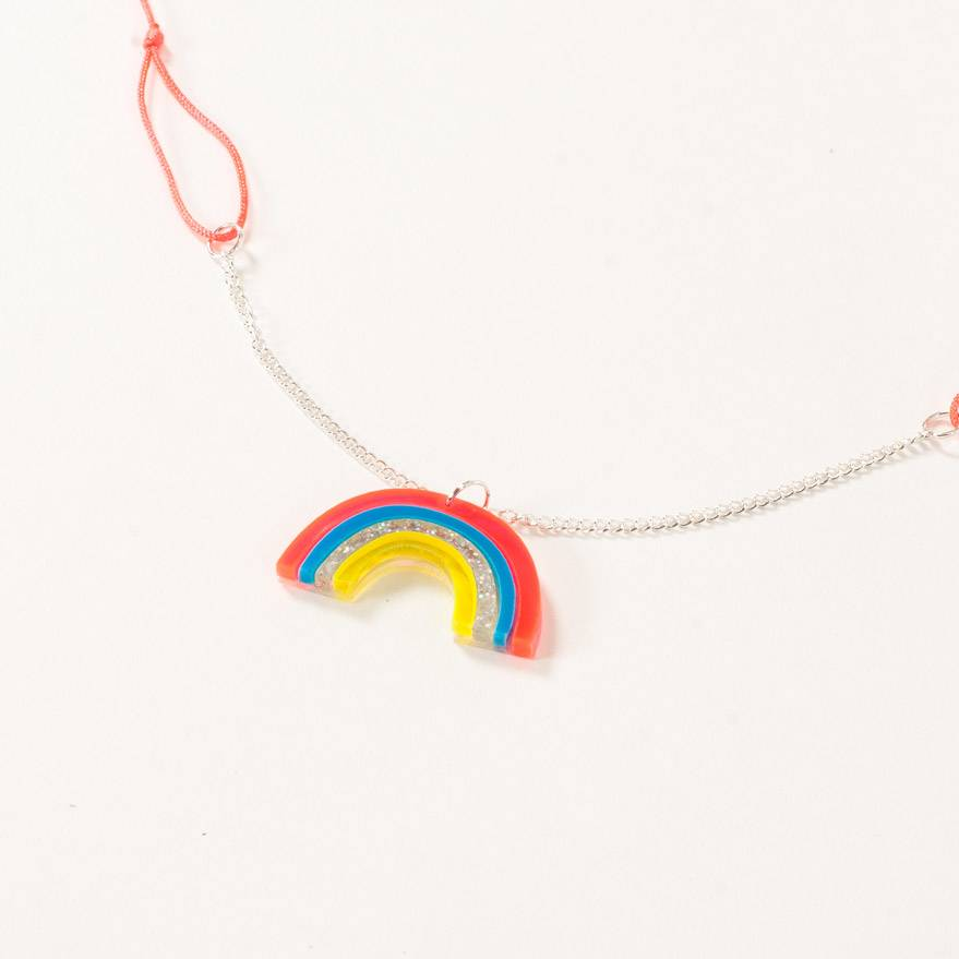 Meri Meri Rainbow Necklace