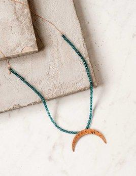 CLP Jewelry London Quartz and Rose Moon