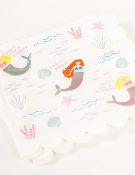 Meri Meri Let's Be Mermaids Napkin