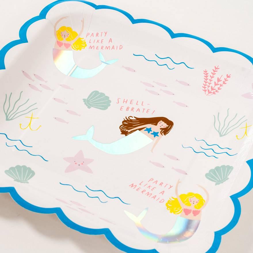 Meri Meri Mermaid Plate