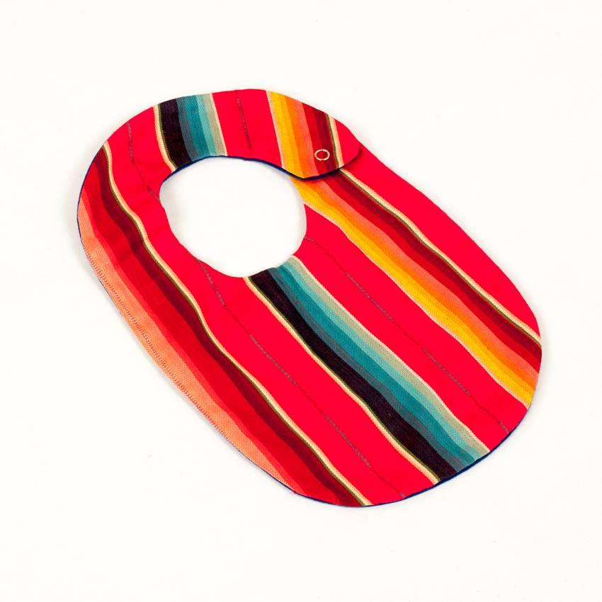 Selvedge Dry Goods Serape Bib Red