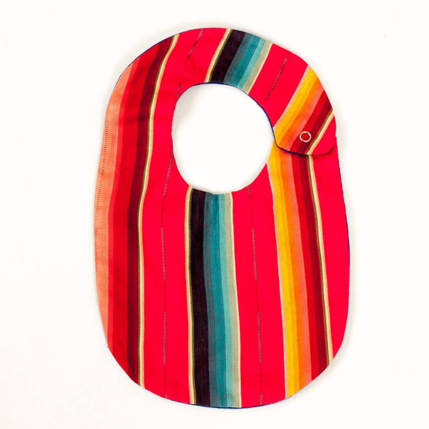 Selvedge Dry Goods Serape Bib Red
