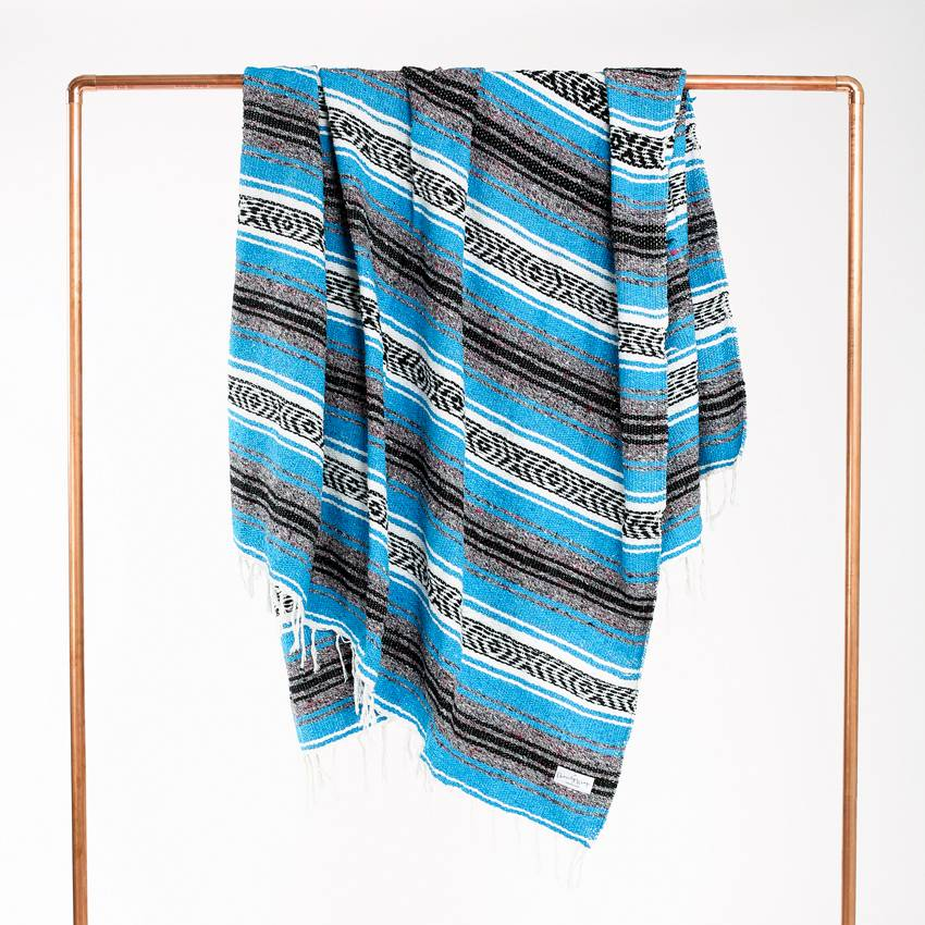 The Charity Wrap Woven Mexican Blankets