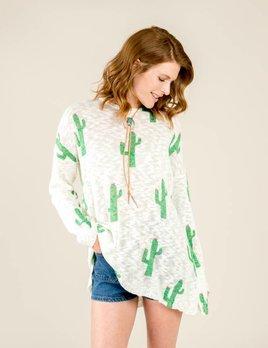 Show Me Your Mumu Show Me Your Mumu - Varsity Sweater Cactus Crew
