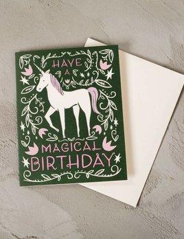 Idlewild Co Magical Unicorn Card