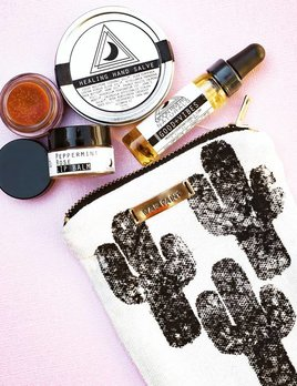All The Wire War Paint Makeup Pouch