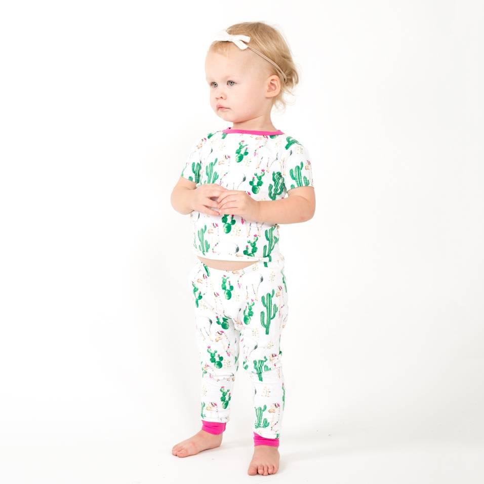 Bedhead Pajamas Cactus Llama Pajama Set