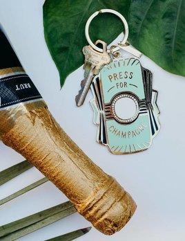 Idlewild Co Press For Champagne Key Chain
