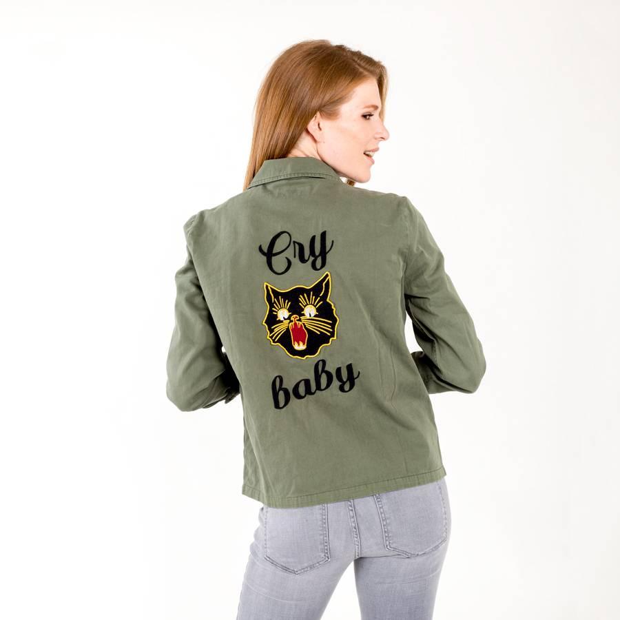 Pistola Cry Baby Cargo Jacket