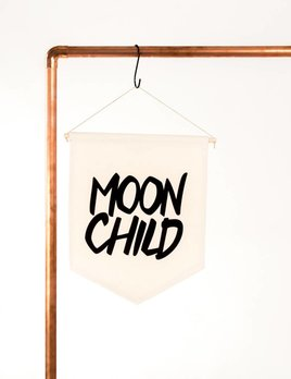 The Rise and Fall Moon Child Banner