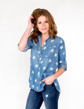 Sneak Peek Denim Star Shirt