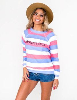 Wildfox Wildfox - Optimist Club Sweatshirt
