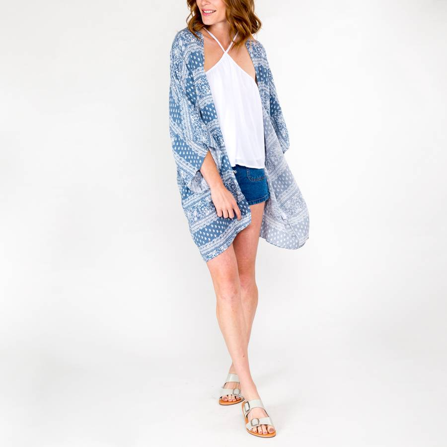 Sage the Label Gemma Kimono