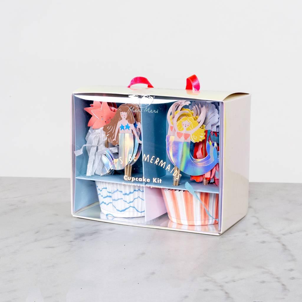 Meri Meri Lets Be Mermaids Cupcake Kit