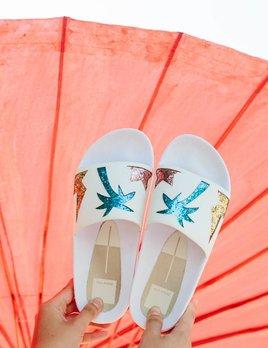 Dolce Vita Traci Palm Print Sandal