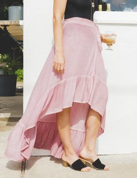 On The Road Tiffany Wrap Skirt