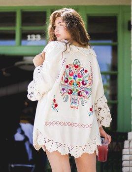 Erica Maree Frida Kimono OS
